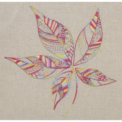 Anchor Essentials: Leaf Stitch Sampler Embroidery Kit