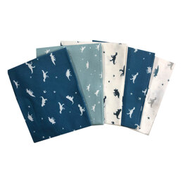 Craft Cotton Company Small Dino's Fat Quarter Bundle