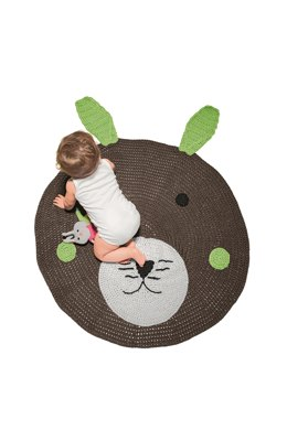 Babies Play Mat in Bergere de France Coton Fifty - 72277-27 - Downloadable PDF