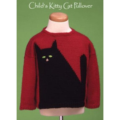Child's Kitty Cat Pullover #506