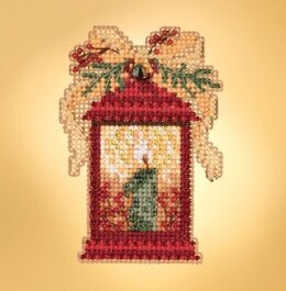 Mill Hill Winter Holiday - Christmas Lantern Seasonal Ornament - 2.25inx3in
