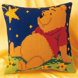 Vervaco Disney - Winnie the Pooh Cross Stitch Cushion Kit - 40cm x 40cm