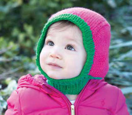 Baby Hood Hat in Patons Astra