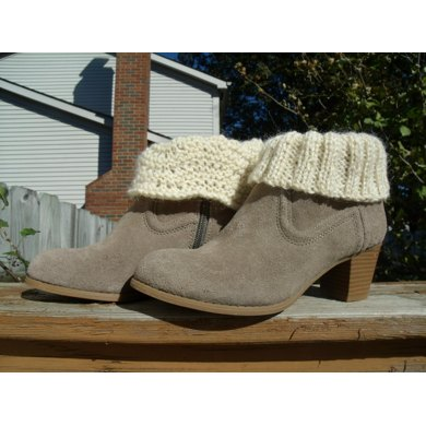 Boot Cuffs Plain and Fancy