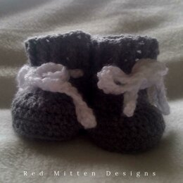 Simply Adorable Baby Booties