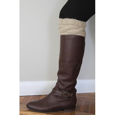 Cabled Boot Cuff
