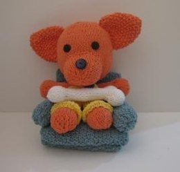 Knitkinz Coral Puppy