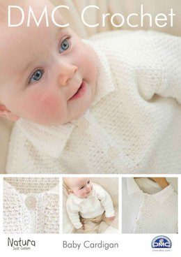 Baby Cardigan in DMC Natura Just Cotton - 15044L/2