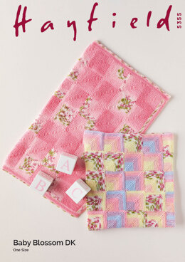 Blankets in Hayfield Hayfield Baby Blossom DK - 5355 - Leaflet