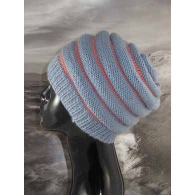 Stripe Beehive Hat
