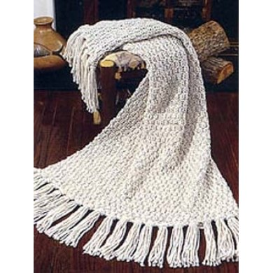 Moss Stitch Afghan (Throw)in Lion Brand Wool-Ease Thick & Quick - 10546-K