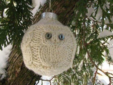 Owl Holiday Ornaments