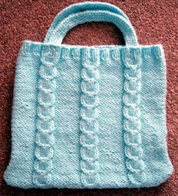 Bulky Knit Craft Bag