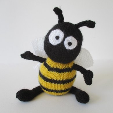 Bumble Bee Knitting Pattern : Bumble the Bee Knitting pattern by Amanda Berry Knitting Patterns LoveKni...