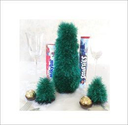 Christmas Tree covers for Smarties, Ferrero Rocher