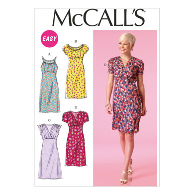 McCall's Misses' Dresses M7116 - Sewing Pattern