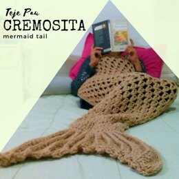 Cremosita mermaid tail