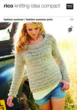 Sweater and Top in Rico Fashion Summer and Fashion Summer Print - 158