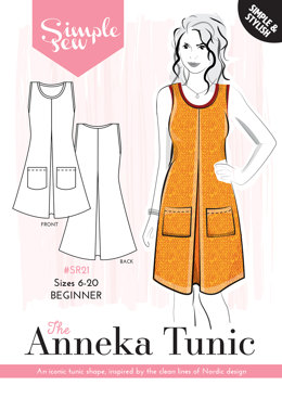 Simple Sew Patterns The Anneka Tunic SR21 - Sewing Pattern