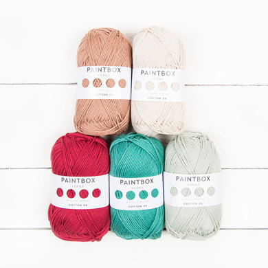 Paintbox Yarns Cotton DK 5 Ball Colour Pack Designer Picks