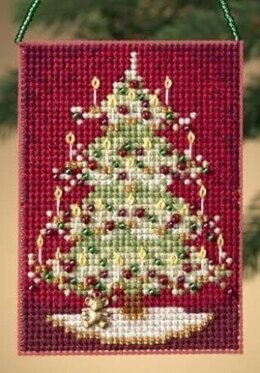 Mill Hill Victorian Tree Charmed Ornament Cross Stitch Kit
