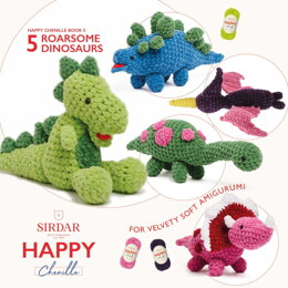Happy Chenille - 05 - Dinosaurs by Sirdar