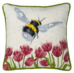 Bothy Threads Flight of The Bumble Bee Tapestry - Hannah Dale - 14in x 14in