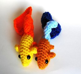 Guppy Tropical Fish Amigurumi/Plush Toy