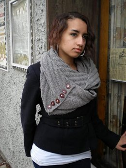 Barely a Pattern Infinity Scarf