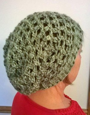 Netted Mesh Slouch Hat