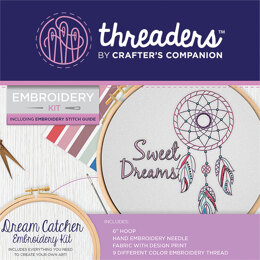 Crafter's Companion Dream Catcher Embroidery Kit