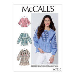 McCall's Misses' Tops and Tunics M7930 - Sewing Pattern
