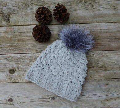 Banff Hat Knitting pattern by CamexiaDesigns