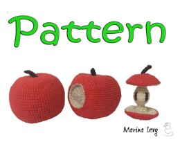 Apple - Circle of life, crocheted pattern
