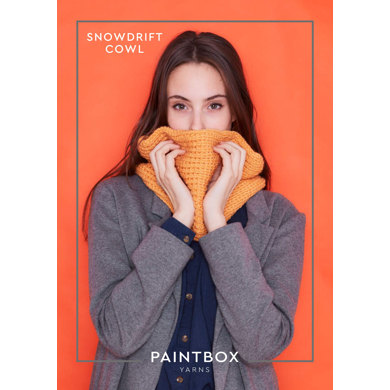 Snowdrift Cowl in Paintbox Yarns Simply Chunky - Downloadable PDF