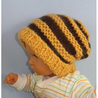 Baby Superfast Stripe Slouch Hat
