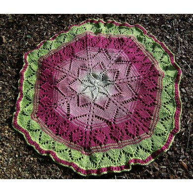 Mary, Mary ... quite contrary blanket/shawl