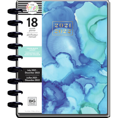 The Happy Planner Kaleidoscope Classic 18 Month Planner - Multi