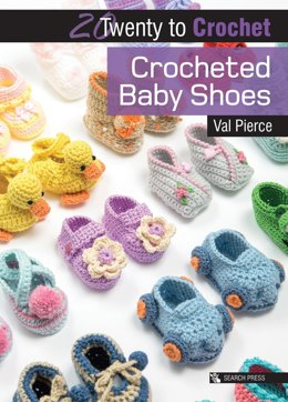 Twenty to Make: Crocheted Baby Shoes by Val Pierce