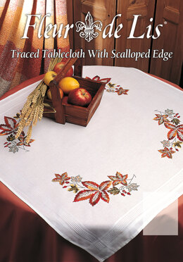Anchor Freestyle - Autumn Tablecloth Embroidery Kit - 80cm x 80cm