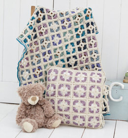 Blanket and Cushion in Stylecraft Batik - 9300
