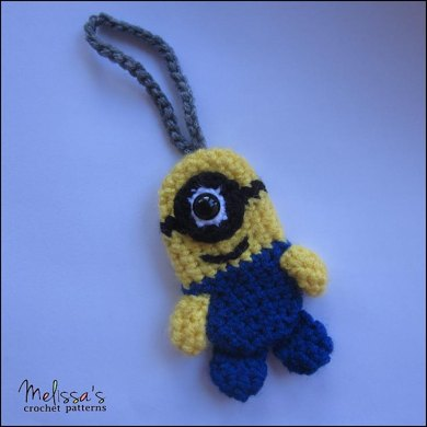 Minion Luggage or Backpack Tag