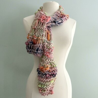 Asymmetrical Art Scarf