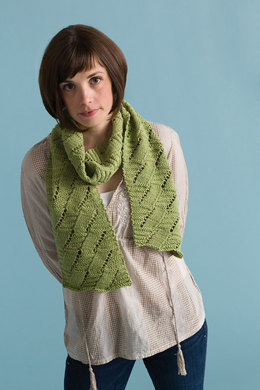 Let It Be Scarf in Classic Elite Yarns Song
