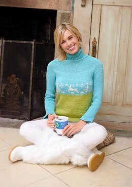 Buck Hill Pullover in Spud & Chloe Sweater - 9515
