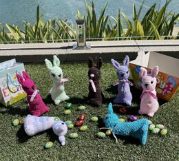 Easter Bunnies for Treats