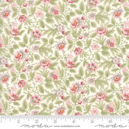 Moda Fabrics 3 Sisters Poetry Cut to Length - Porcelain