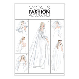 McCall's Bridal Veils M4126 - Sewing Pattern