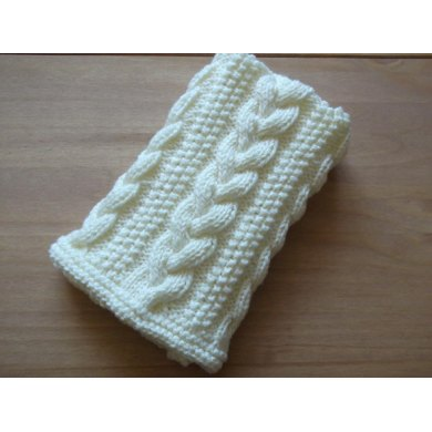 Braided Cable Baby Blanket / Basket stuffer / Lap Blanket