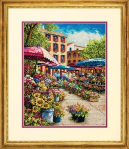 Dimensions Provence Market Cross Stitch Kit